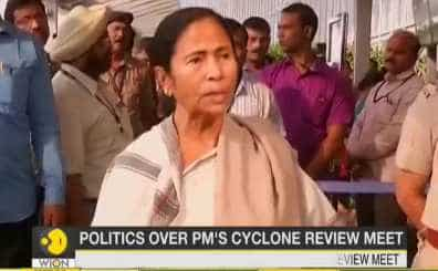 Politics over PM's cyclone review meet