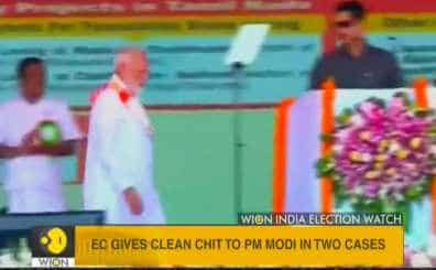 EC gives clean chit to PM Narendra Modi in two more cases of alleged MCC violation
