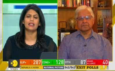 India Votes: Exclusive Talk With Dr. Ashwani Kumar, Ex- RS MP Over The Lead To NDA In Exit Polls