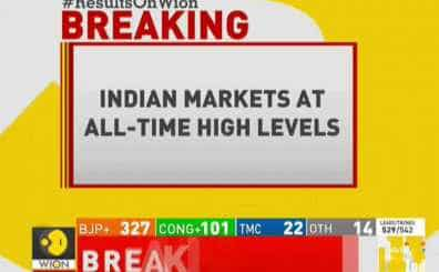 Indian markets at all-time high level; Sensex touches 40,000 mark for the first time
