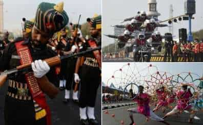Dress rehearsal for India's Republic Day