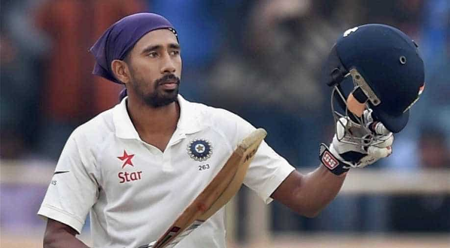 Was certainly scared': Wriddhiman Saha openes up on his battle with COVID-19, Sports News | wionews.com