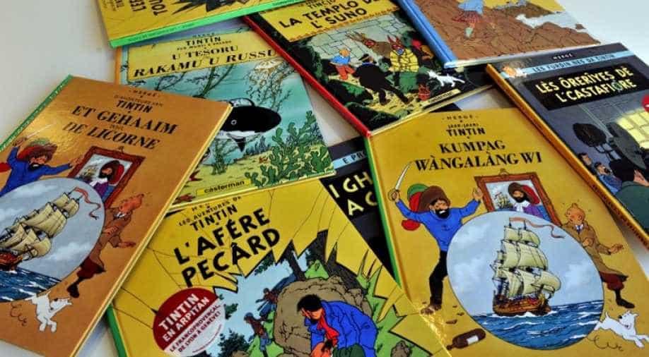 Sale of two original Tintin comic strips set to break
