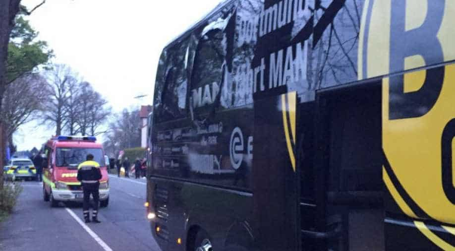 Borussia Dortmund BVB 09 BVB-MANnschaftsbus