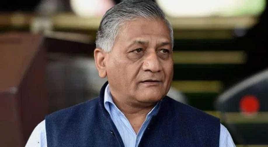 Voters full of josh, Opposition clueless: General VK Singh