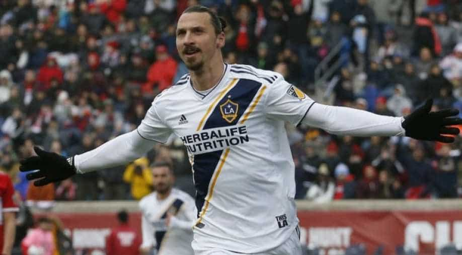 Watch Zlatan Ibrahimovic Nets 500th Career Goal In Style Sports News Wionews Com