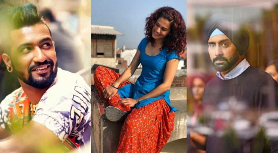 Manmarziyaan Taapsee Vicky And Abhishek S Film Is All Heart Entertainment News Wionews Com