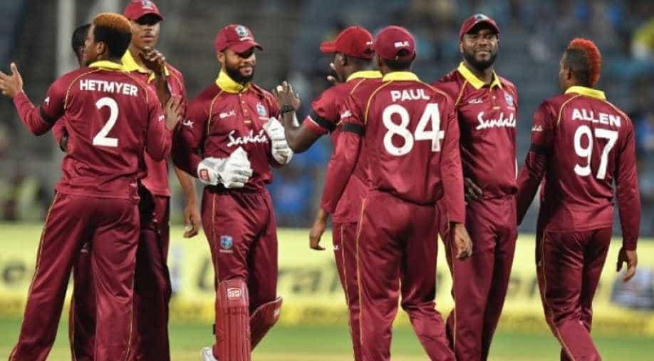 West Indies Miss 500 Run Mark In World Cup Warm Up Match