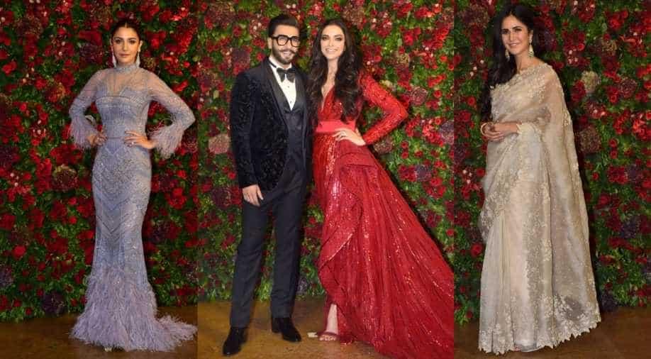 d99ab957d3 Deepika Padukone and Ranveer Singh wedding reception (Source: Yogen Shah)  Photograph:( WION Web Team )