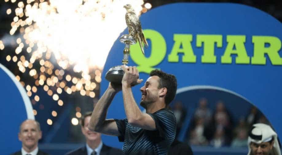 Bautista Agut overcomes Tomas Berdych to lift Doha trophy, Sports