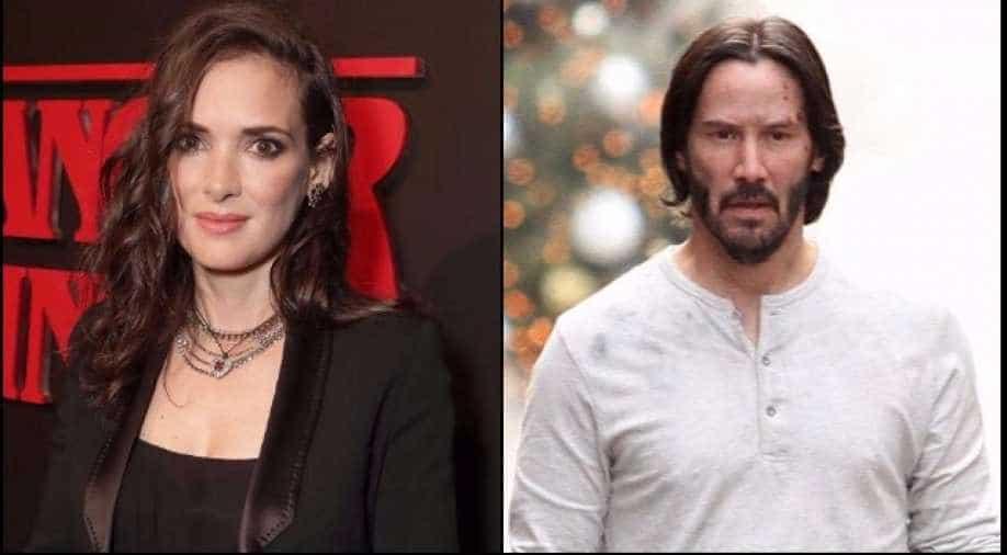 Keanu Reeves says Winona Ryder calls him 'husband ...