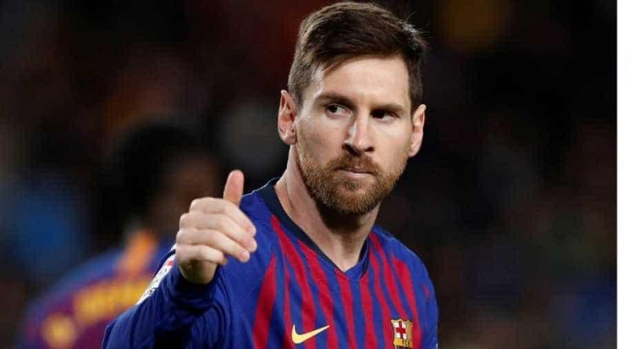 Football: Lionel Messi contract talks 'progressing adequately', says Barcelona president