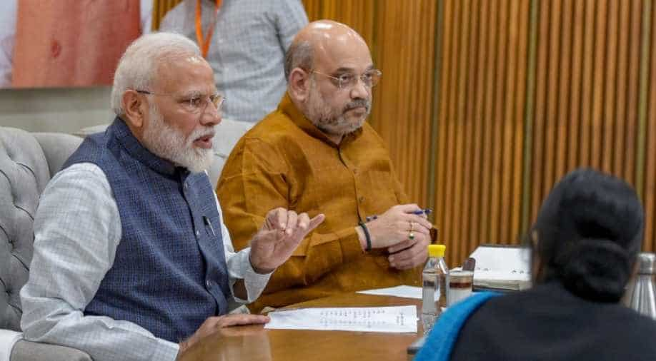 Image result for modi amit shah meeting