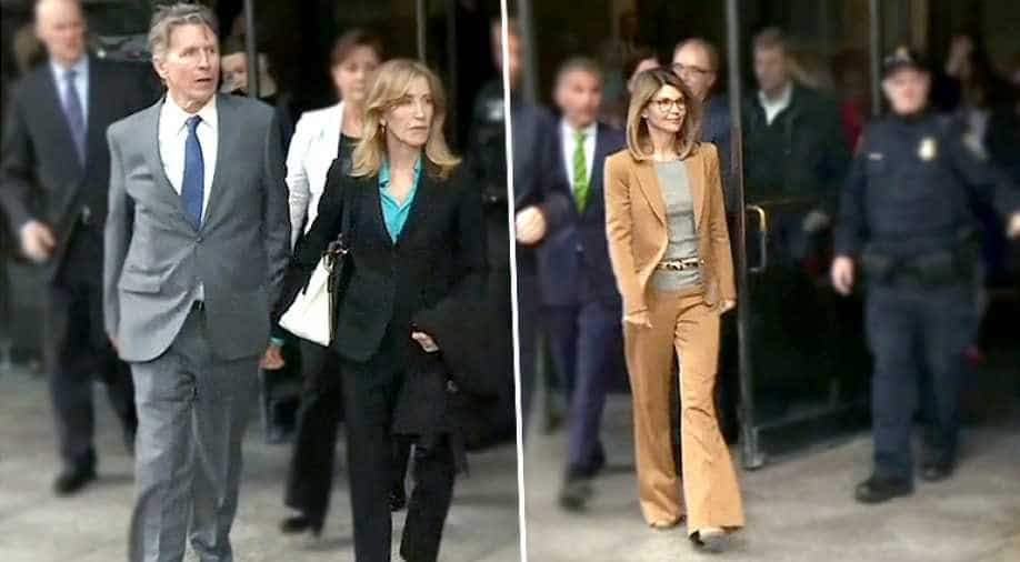 Felicity Huffman, Lori Loughlin warned about discussing US ...