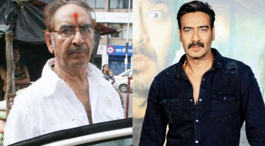 Image result for ajay devgan father's demin