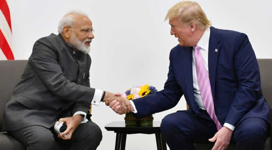 Prime Minister Narendra Modi meets Donald Trump, President of United States on the sidelines of G20 Summit in Osaka on Friday.