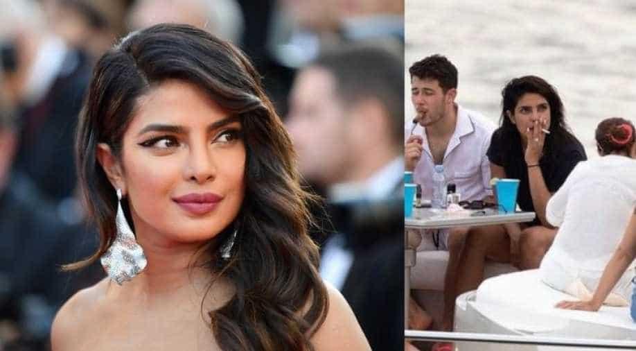 Picture of Priyanka Chopra smoking gone viral