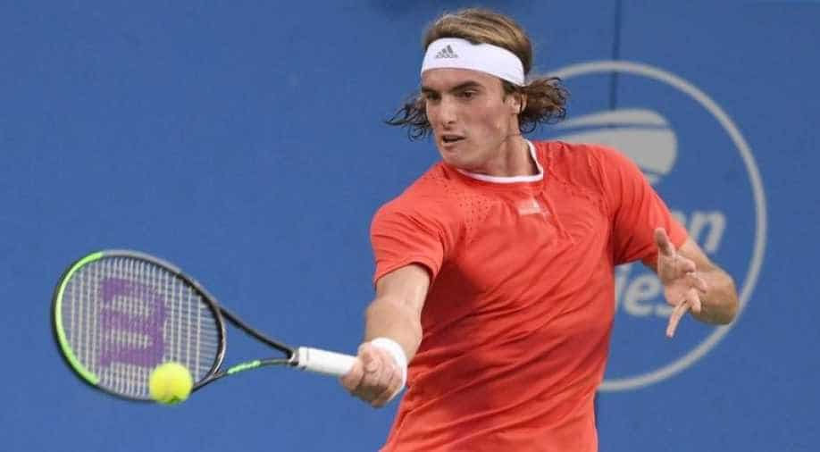 Stefanos Tsitsipas Enters Atp Top Five For The First Time Sports News Wionews Com