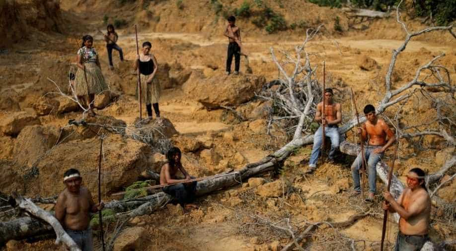 Brazils indigenous people swear to fight for Amazon to last drop of blood