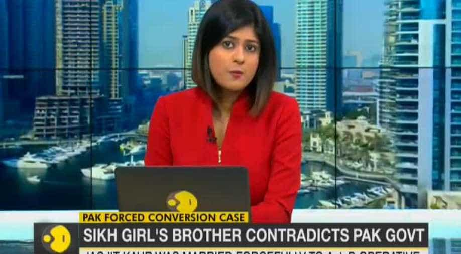 Abducted Pakistan-based Sikh girl's brother contradicts