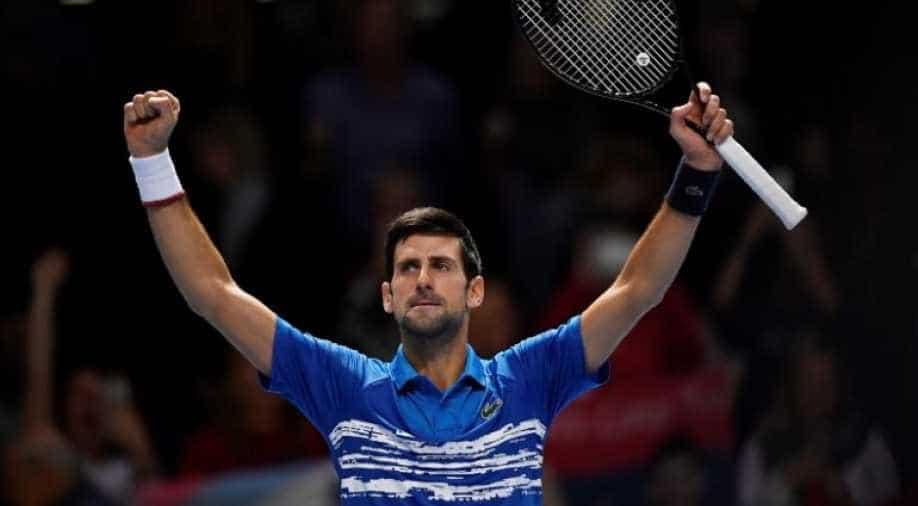 French Open Serbian Ace Djokovic Sweeps Past Galan Into Last 16 Sports News Wionews Com