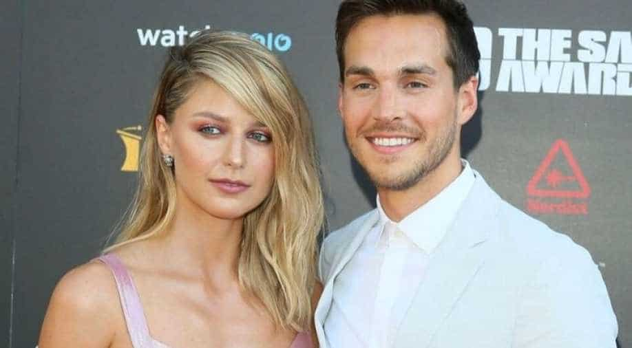 Supergirl Actor Mellisa Benoist S Husband Chris Wood Tweets In Support Of Istandwithmelissa Entertainment News Wionews Com
