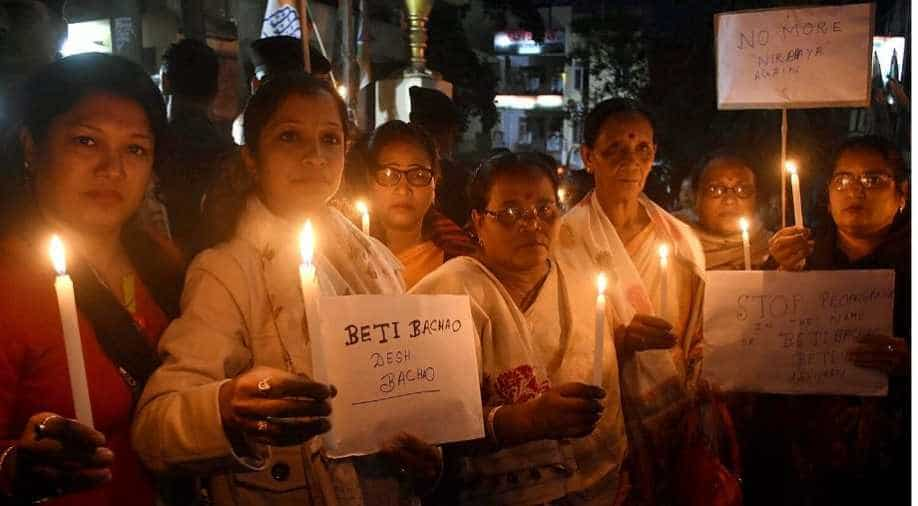 Protest over Hyderabad rape and murder