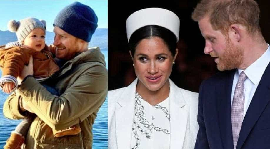 revealed the names of prince harry and meghan markle s son archie s godparents entertainment news wionews com the names of prince harry and meghan
