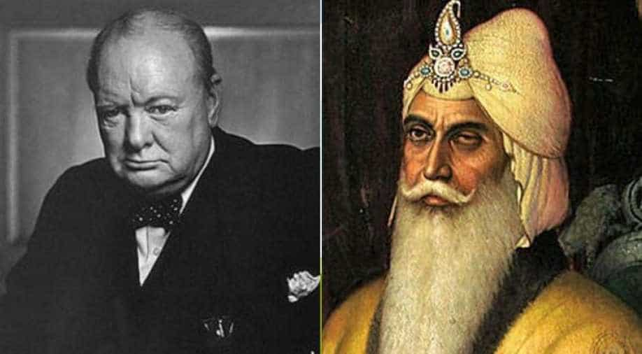Maharaja Ranjit Singh Surpasses Uk War Time Pm Winston Churchill In Poll To Be Named Greatest World Leader India News News Wionews Com