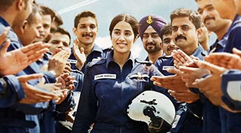 From The Real Gunjan Saxena To Reel Janhvi Kapoor Thanks Former Iaf Pilot Entertainment News Wionews Com