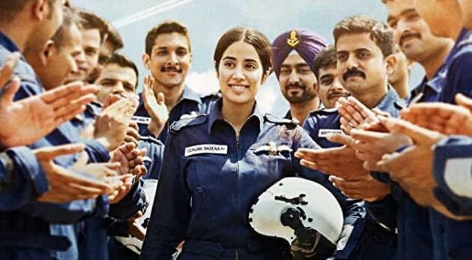 Watch Gunjan Saxena Trailer A Girl Who Dreams Big Entertainment News Wionews Com