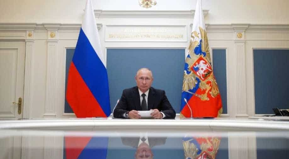 Russian President Vladimir Putin Warns The World Not To Interfere In Belarus World News Wionews Com