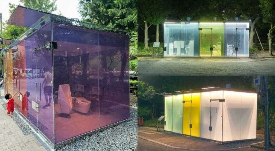 Transparency for safety: Transparent public toilets installed in ...