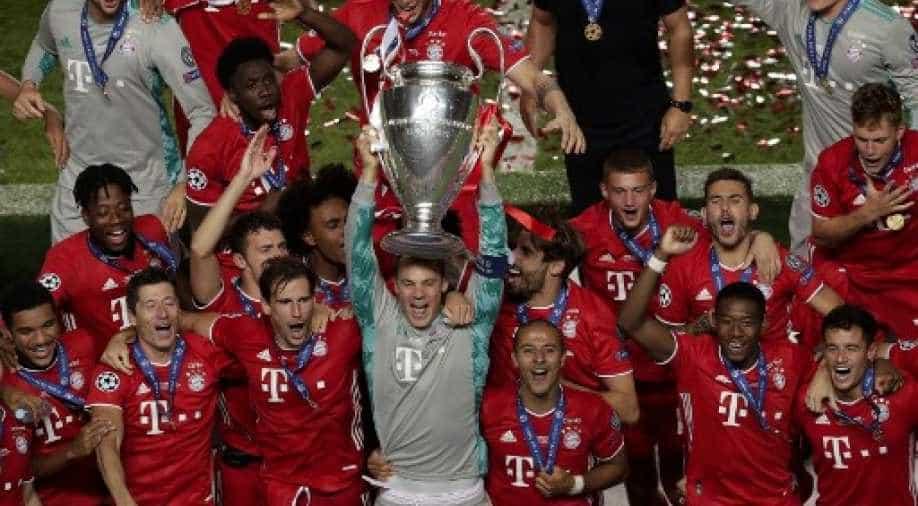 Champions League Bayern Munich Equal Barcelona S Treble Feat Sports News Wionews Com