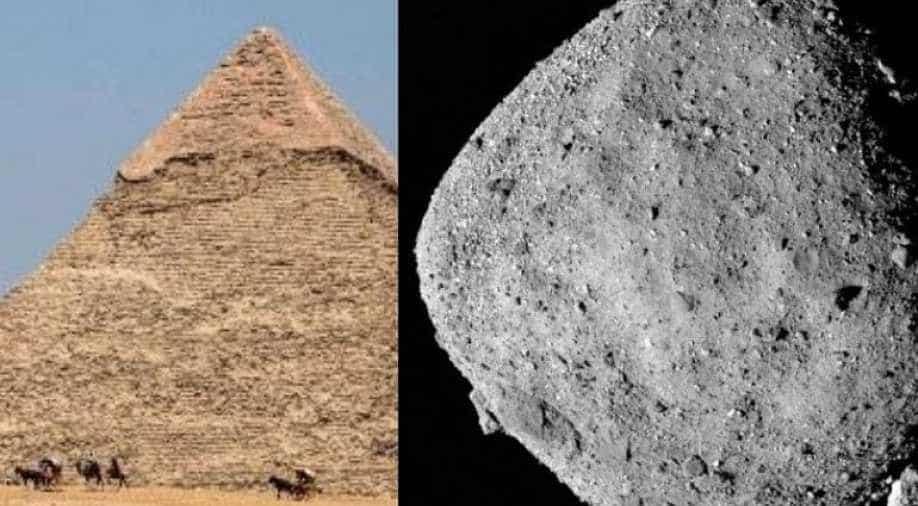 Asteroid bigger than Great Pyramid of Giza to hit Earth`s orbit this week - WION