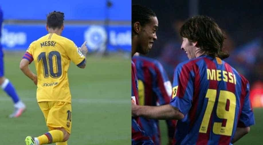 Lionel Messi S Journey From Jersey No 19 To 10 In Fc Barcelona Sports News Wionews Com