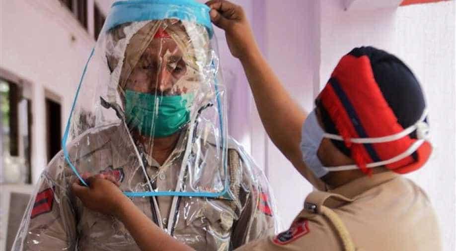 Coronavirus Punjab Updates: Daily new cases of coronavirus in Punjab fallen below 4,000-mark as state recorded 3,919 new cases of COVID-19.