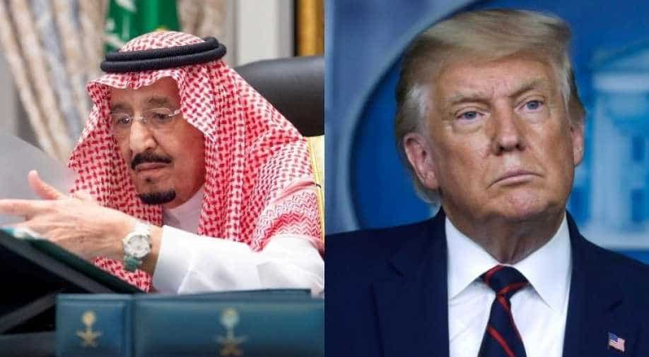 Want permanent, fair solution to Palestinian issue: Saudi King to Trump,  World News | wionews.com