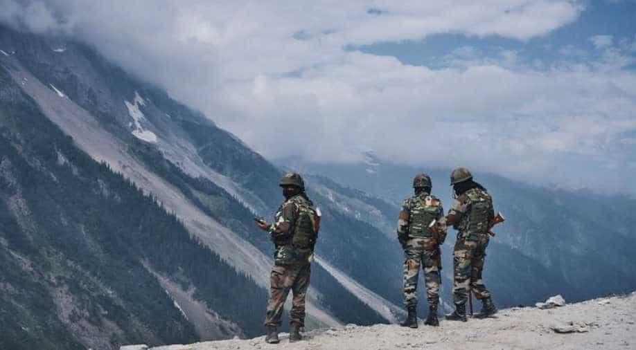 Image result for ladakh india-china