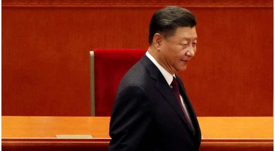 Xi Jinping Coughs Violently During Key Speech Sparking Health Fears World News Wionews Com