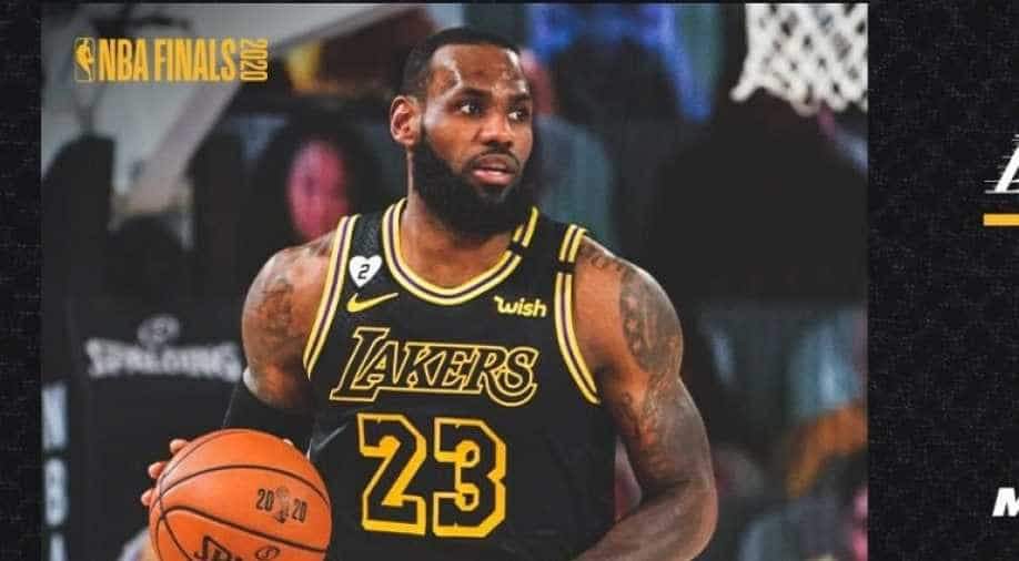 Nba Finals La Lakers To Wear Mamba Jersey In Game 5 Sports News Wionews Com