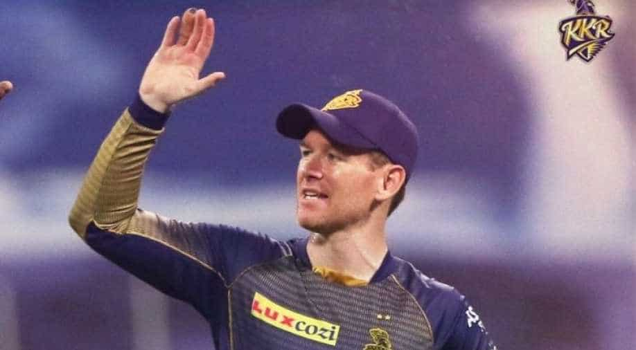 KKR captain Eoin Morgan provides update on his split webbing injury ahead  of IPL 2021, Sports News | wionews.com