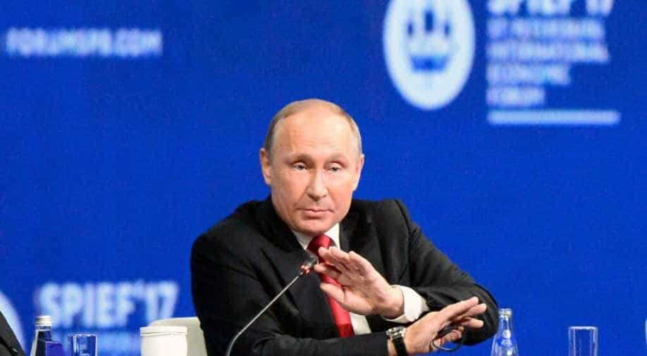 Putin May Quit As Russia S President Amid Fears He Has Parkinson S Disease Sources Claim World News Wionews Com