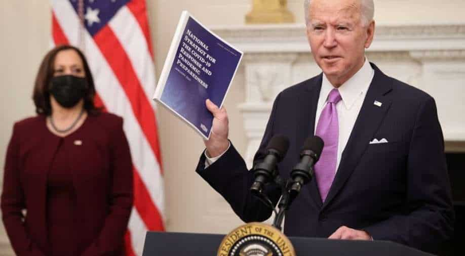 Biden with his Covid strategy