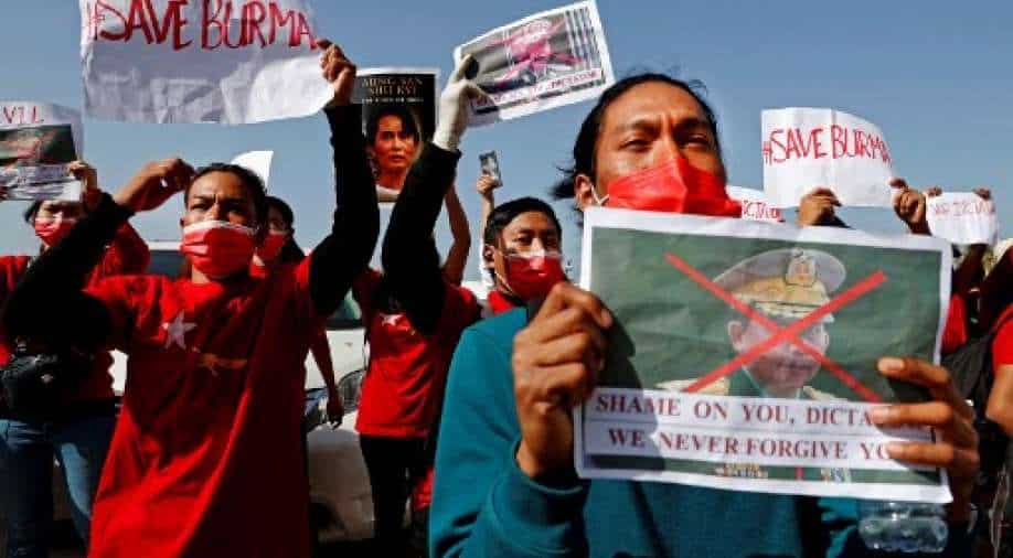 Myanmar military clamps down on internet services, blocks <b>Facebook</b> thumbnail