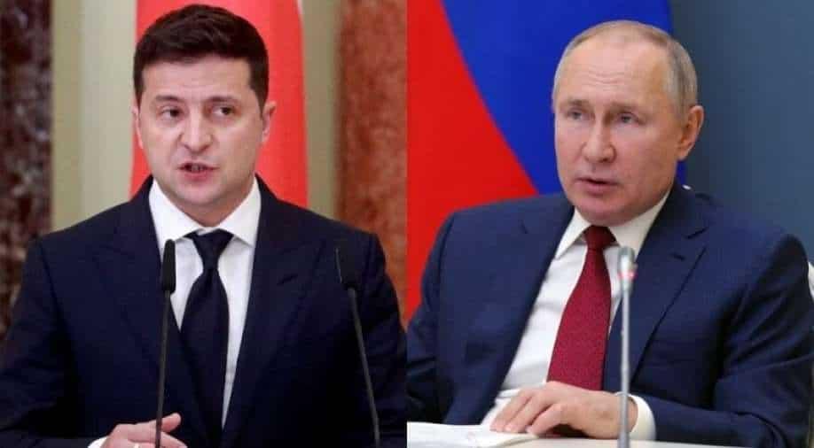 """Die Ukraine fordert die NATO auf, mit ihrem Beitritt ein """"echtes Signal"""" an Russland zu senden"""