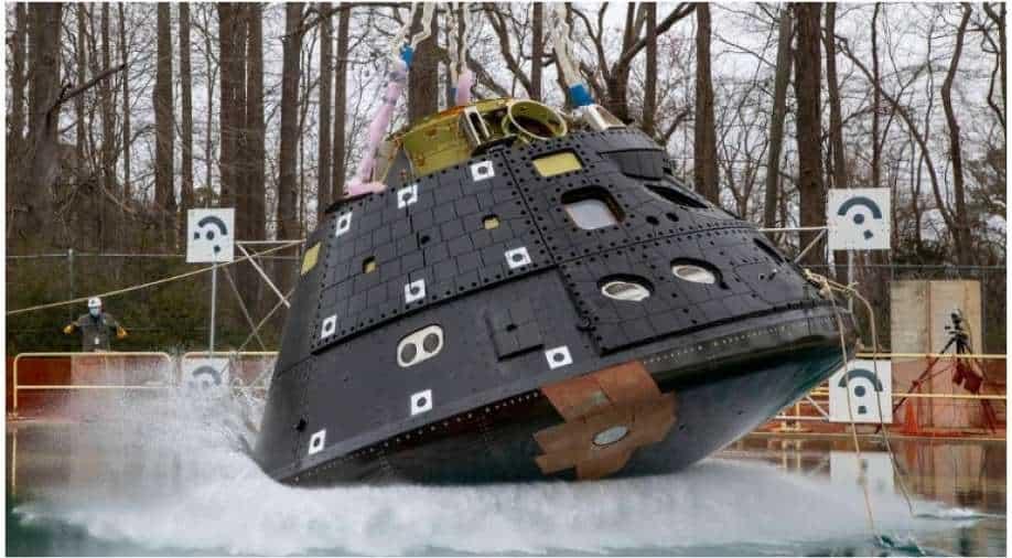 NASA begins water drop tests on Orion spacecraft - WION