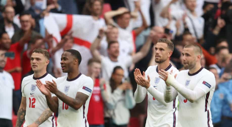 Football: England's road to the Euro 2020 final