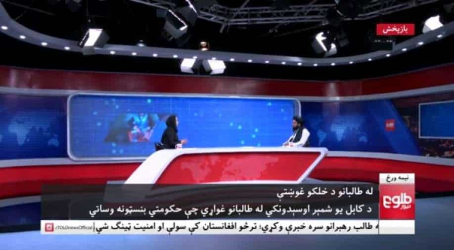 Afghanistan female TV anchors defy Taliban by continuing to present on news channel