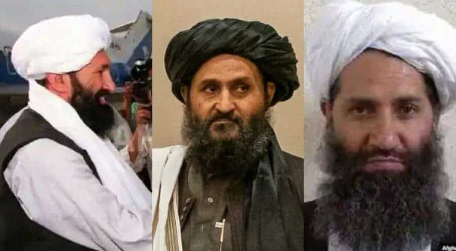 Paying homage to old guard, Taliban name caretaker Afghanistan cabinet,  South Asia News | wionews.com